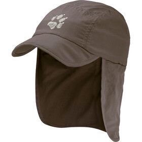 Jack Wolfskin Supplex Canyon Casquette Enfant, siltstone